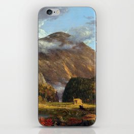 Thomas Cole A View of the Mountain Pass Called the Notch of the White Mountains (Crawford Notch) iPhone Skin