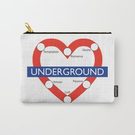 Love Underground Carry-All Pouch