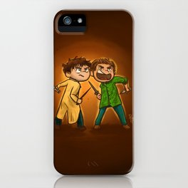 Come and Get It! iPhone Case