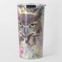 Space Owl with Spice Travel Mug