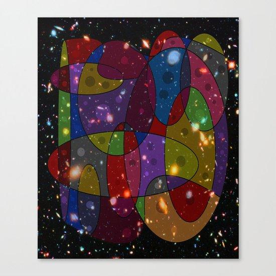 Abstract #305 Galaxies Canvas Print