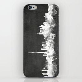 Toronto Canada Skyline iPhone Skin
