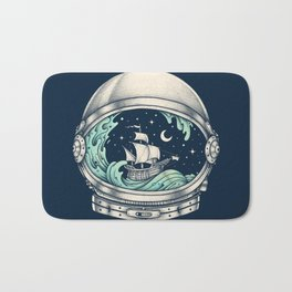 Spaceship Bath Mat