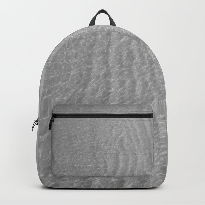 Water (Black and White) Backpack