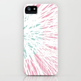 Pink Doodle Floral by Friztin iPhone Case