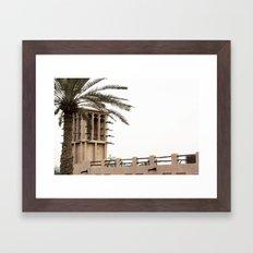 Wind Tower Framed Art Print