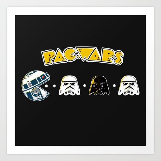 Pac Wars Art Print