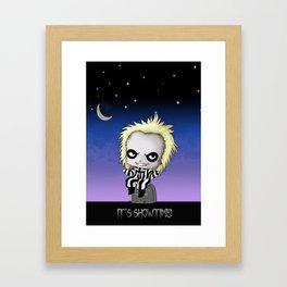 It's Showtime! Framed Art Print