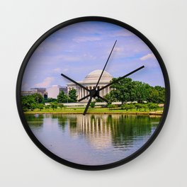 Jefferson Memorial Wall Clock