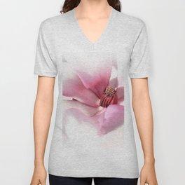 Magnolienblüte Unisex V-Neck