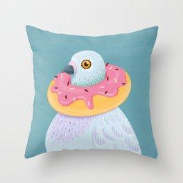 Dovenut Throw Pillow