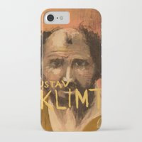 gustav klimt iPhone & iPod Cases featuring 50 Artists: Gustav Klimt by Chad Beroth