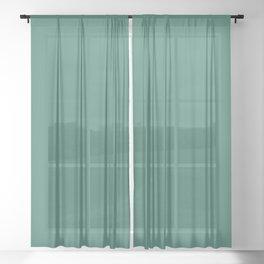 Viridian Sheer Curtain