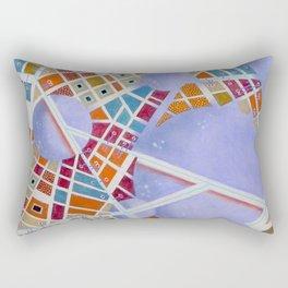 The cities of the Moon Rectangular Pillow