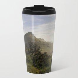 Foggy Horizon Travel Mug