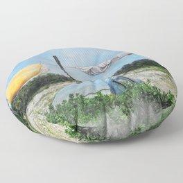 Erice art 6 Floor Pillow