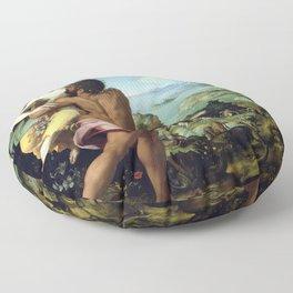 Alessandro Allori The Abduction of Proserpine Floor Pillow