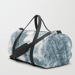 Marble Flow - Moody Blue Duffle Bag