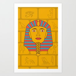 Egyptian Prince Art Print
