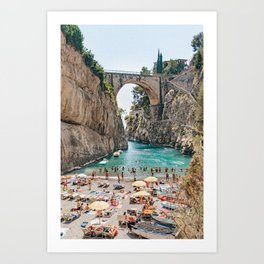 An Italian Holiday Art Print