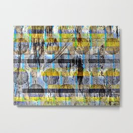 ABSTRACT/LIPSTICK ON A PIG Metal Print