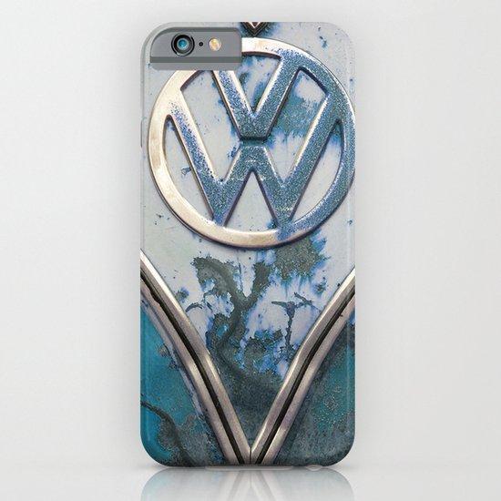 Blue Rusty VW iPhone & iPod Case