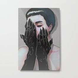 Demon Hands Metal Print