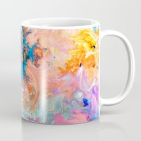 cosmos Mugs featuring Cosmos by Kimsey Price