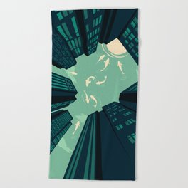 Solitary Dream Beach Towel
