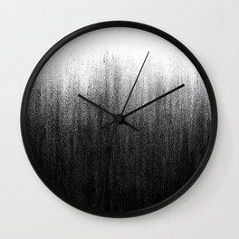 Charcoal Ombré Wall Clock