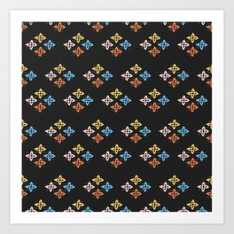 Las Flores 02 (Patterns Please) Art Print