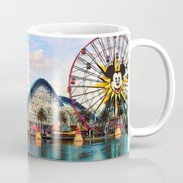 Paradise Pier at California Adventure Coffee Mug