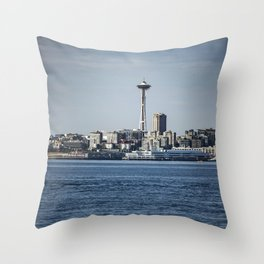 Seattle Space Needle Throw Pillow
