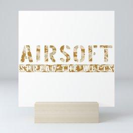 Welts Airsoft Airsoft BBs Gift Mini Art Print