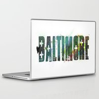baltimore Laptop & iPad Skins featuring Baltimore by Tonya Doughty
