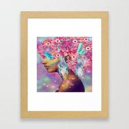 Sanya Framed Art Print