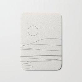 Abstract Landscape 15C Bath Mat