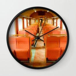 Vintage Train Wall Clock