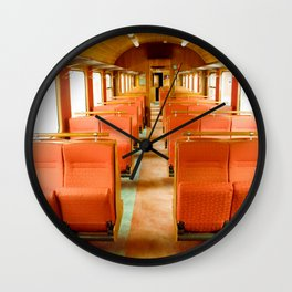 Vintage Train Wall Clock
