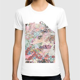 Edinburgh map T-shirt