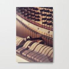 Le Vieux Piano Metal Print