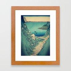 Pathway to Yuge Framed Art Print