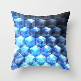 By the Steps of Atlantis Throw Pillow