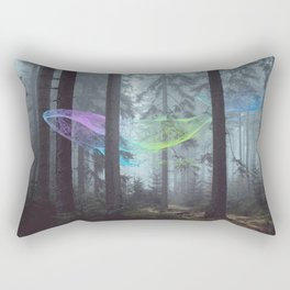 Whale Music in the Forest Rectangular Pillow