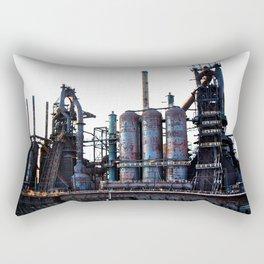 Bethlehem Steel Blast Furnace 2 Rectangular Pillow