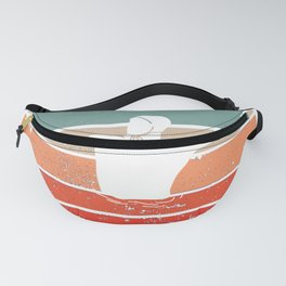 Water Polo Vintage Wopo Waterfootball Pool Ball Fanny Pack