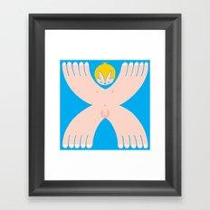 I´m a boy Framed Art Print
