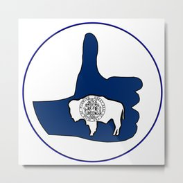 Thumbs Up Montana Metal Print