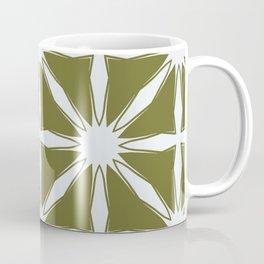 Modern Moroccan criss cross Coffee Mug