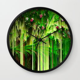 It's A Jungle Out There Wall Clock